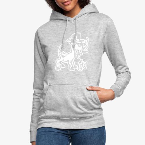 Bock auf Shirts ohne Text 30102018 7 07 - Frauen Hoodie