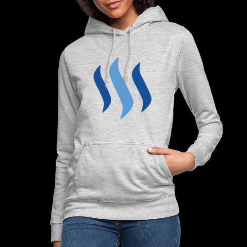 steem logo - Frauen Hoodie