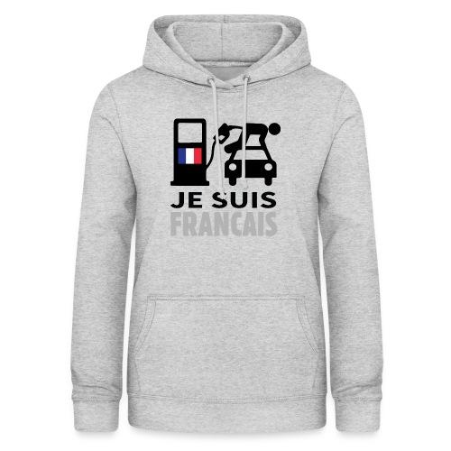 Je suis français 2 - Sweat à capuche Femme