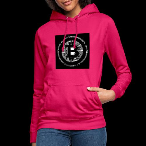 bitcoin logo - Frauen Hoodie