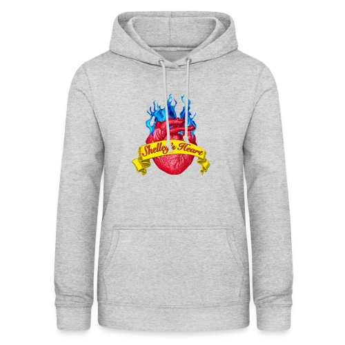 Shelley s Heart Logo - Women's Hoodie