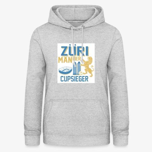 ZÜRI MÄNNER Fussball Cupsieger - Frauen Hoodie