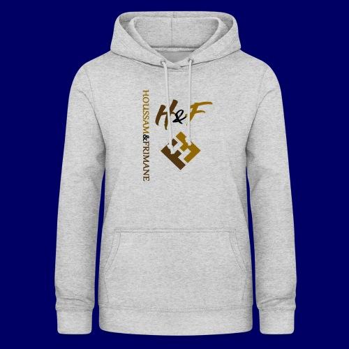 h&F luxury style - Felpa con cappuccio da donna
