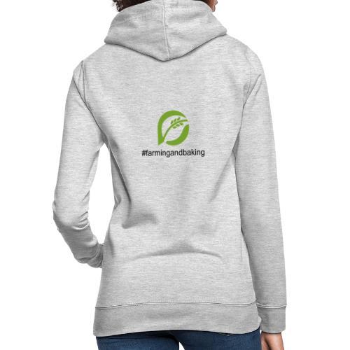 farmingandbaking_logogruen - Frauen Hoodie