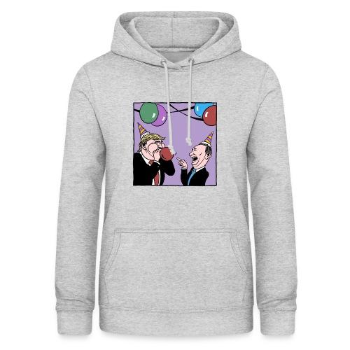 Trump and Putin having fun T-shirt - Vrouwen hoodie