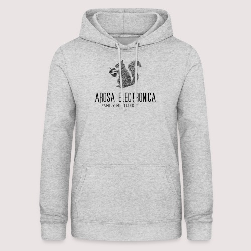 Family Mitglied Arosa Electronica - Frauen Hoodie