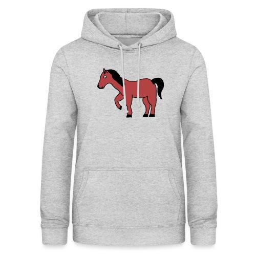 pferd Pony Reiten - Frauen Hoodie