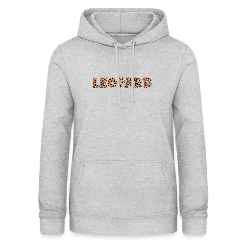 leopard 1237253 960 720 - Frauen Hoodie