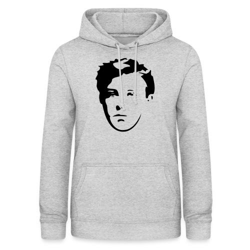 Arthur Rimbaud visage - Sweat à capuche Femme