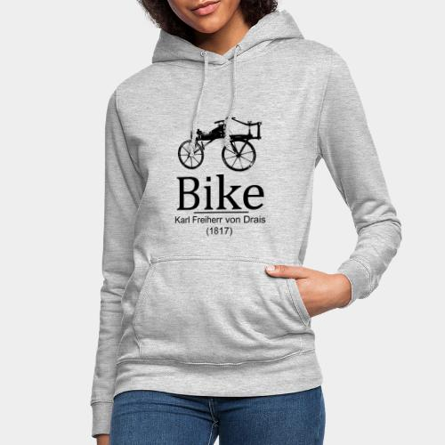 Bike - Sudadera con capucha para mujer