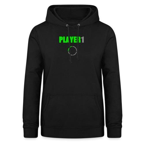 PLAYER 1 VideoJuegos - Sudadera con capucha para mujer