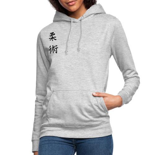 jiu-jitsu på japansk og logo - Dame hoodie