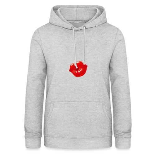 beso - Sudadera con capucha para mujer
