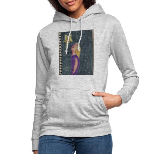 La estrella - Sudadera con capucha para mujer