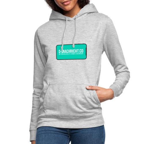 Nachricht.co Smartphone - Frauen Hoodie