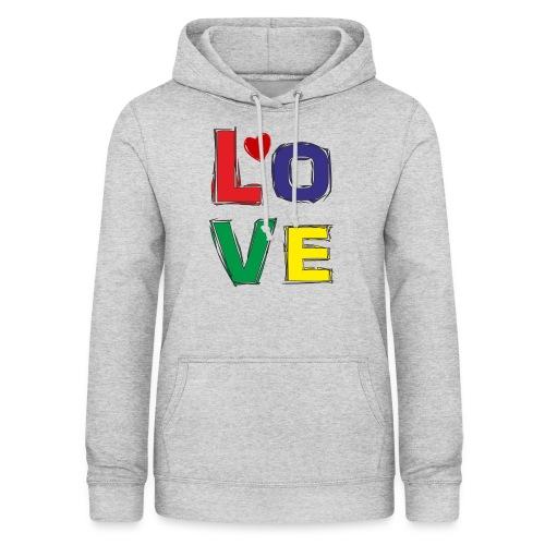 LOVE - Frauen Hoodie