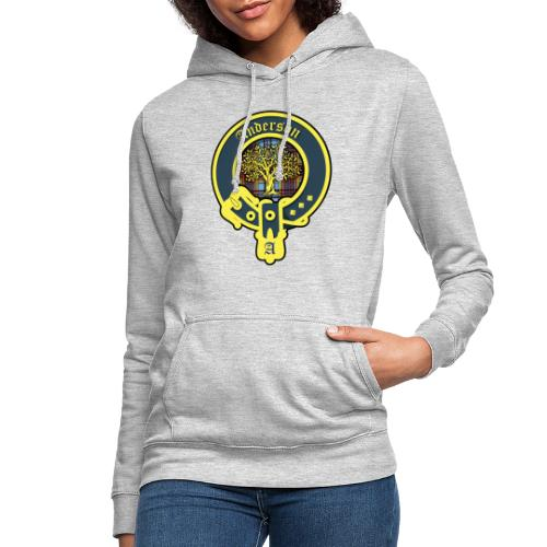 anderson logo - Frauen Hoodie