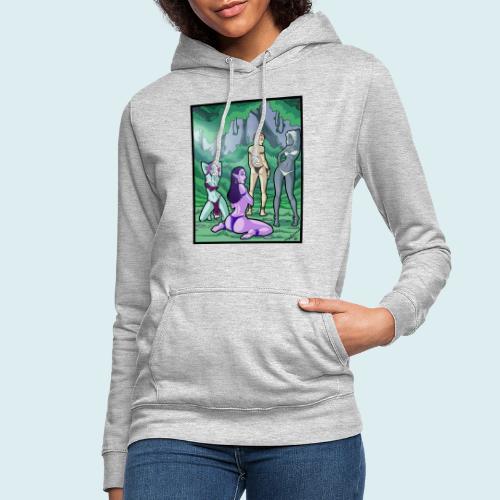 fairies - Felpa con cappuccio da donna