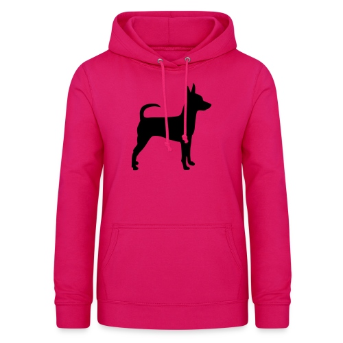 Standing Toy Fox Terrier - Naisten huppari
