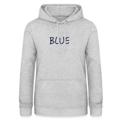 BLUE - Vrouwen hoodie