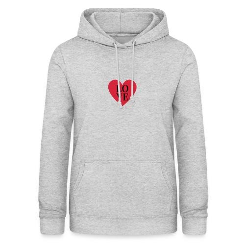 love love - Sweat à capuche Femme
