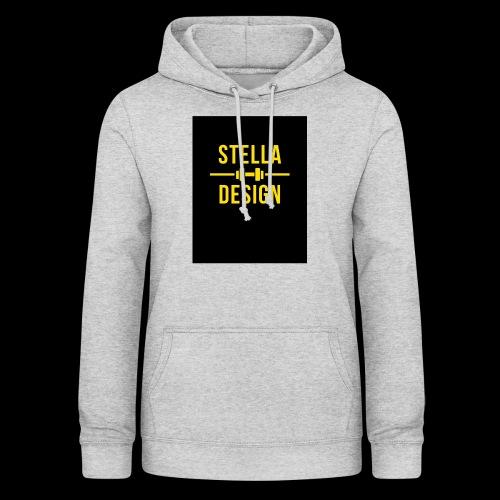 Yellow and Black designer hoodie / bag. - Luvtröja dam