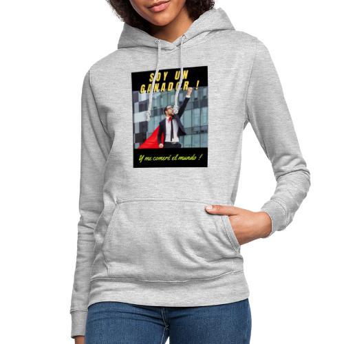 SOY UN GANADOR 2 - Sudadera con capucha para mujer