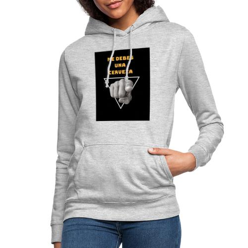 Camiseta Cerveza - Sudadera con capucha para mujer