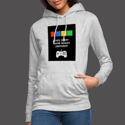 Game night uniform - Sudadera con capucha para mujer