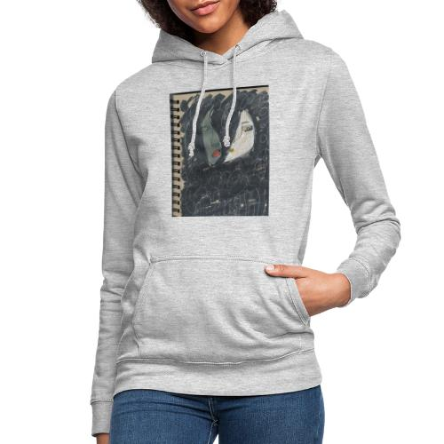 La noche - Sudadera con capucha para mujer