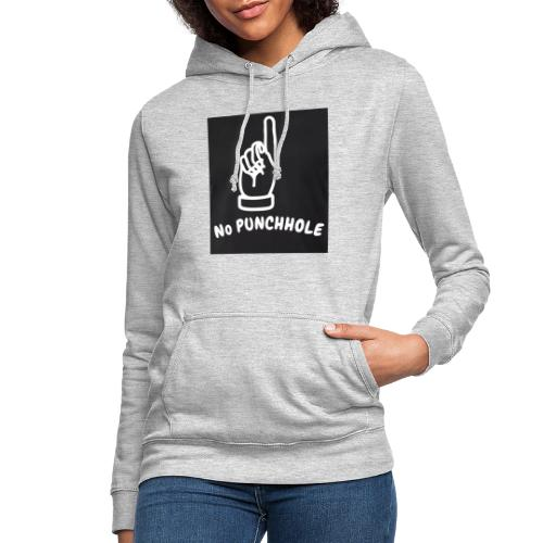 No Punch in my Face 1 - Frauen Hoodie