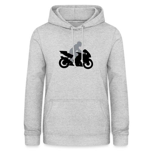 Biker Silhouette - Frauen Hoodie