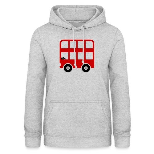 Doppeldecker Bus Comic - Frauen Hoodie
