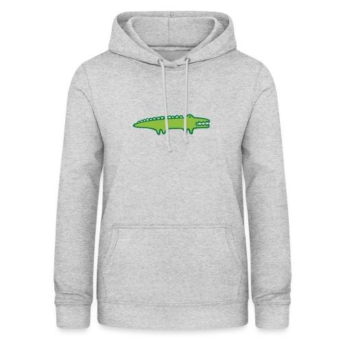 Kinder Comic - Krokodil - Frauen Hoodie