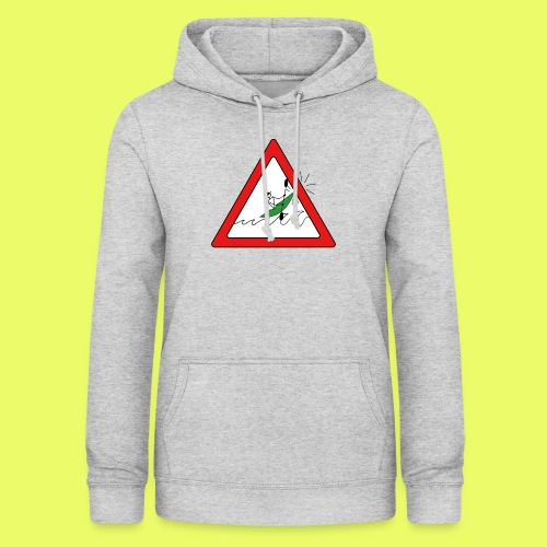 Kajak Unfall im Dreieck - Frauen Hoodie