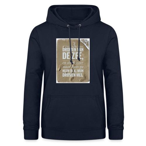 Dromen van het strand - Vrouwen hoodie