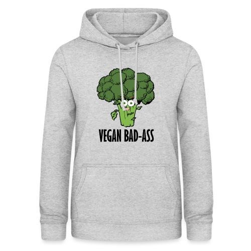 VEGAN BAD-ASS - Dame hoodie