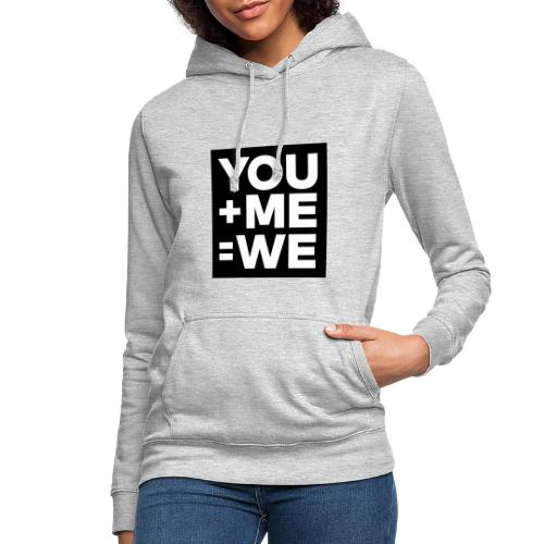 you me men - Sweat à capuche Femme