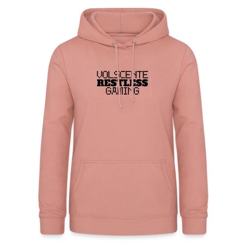 Volscente Restless Logo B - Felpa con cappuccio da donna