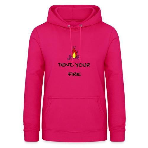 tendyourfire black 1 - Frauen Hoodie
