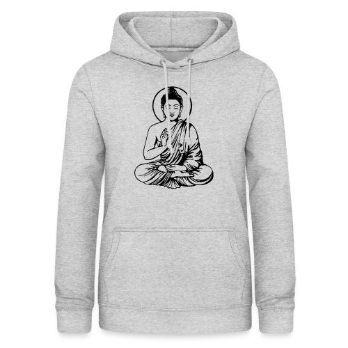 Buddha-Vektor-Outline - Frauen Hoodie