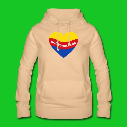 Love Noord Holland Hart.png - Vrouwen hoodie