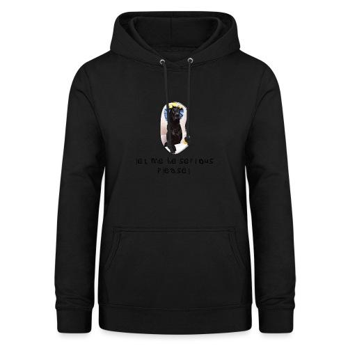 let me be serious - Dame hoodie