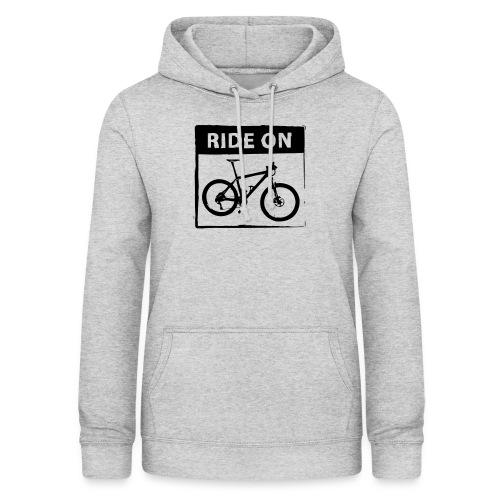 Ride On MTB 1 Color - Frauen Hoodie