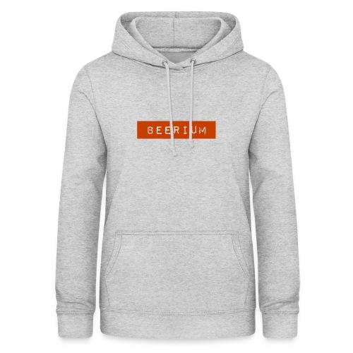 BEERIUM logo orange - Luvtröja dam