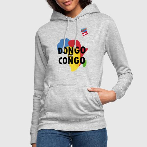 dongo from congo - Dame hoodie