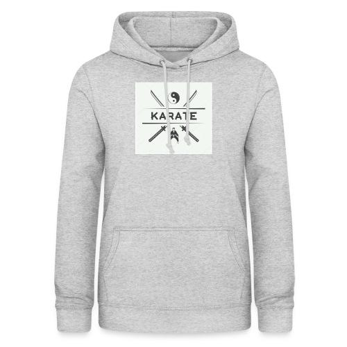 Karatedo - Sudadera con capucha para mujer