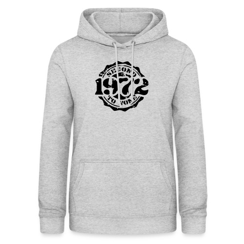 1972 Second to None - Frauen Hoodie
