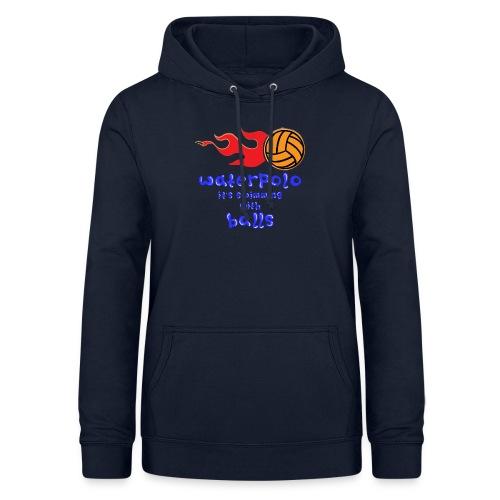 Waterpolo - Felpa con cappuccio da donna