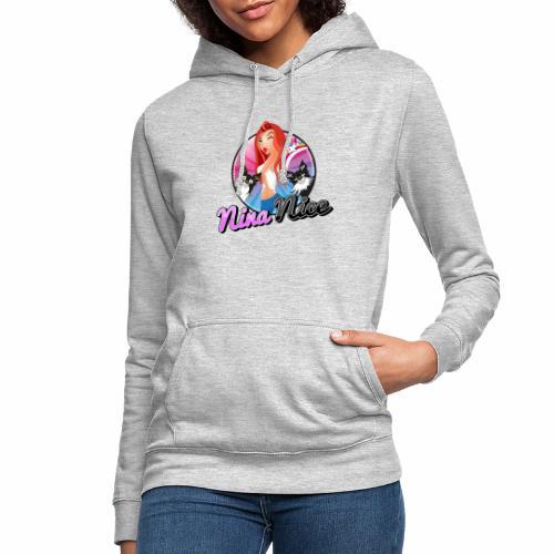 Nina Nice Logo - Frauen Hoodie